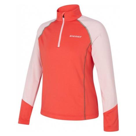 Ziener JALDO JR orange - Kinder Sweatshirt