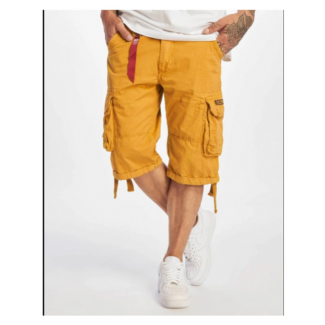 Alpha Industries Jet Shorts Yellow