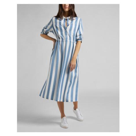 Lee Worker Kleid Blau
