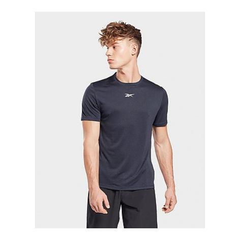 Reebok workout ready mélange t-shirt - Vector Navy - Herren, Vector Navy