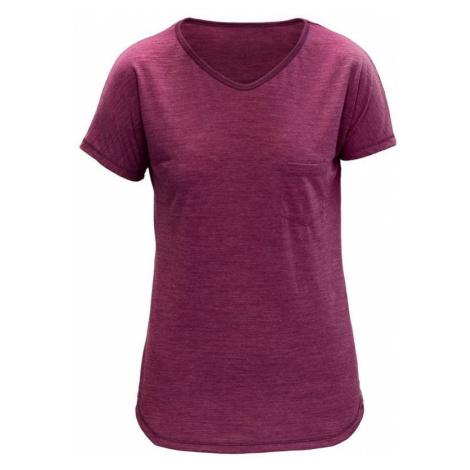 Damen T-Shirt Devold Herdal Woman Tee GO 293 289 A 211A