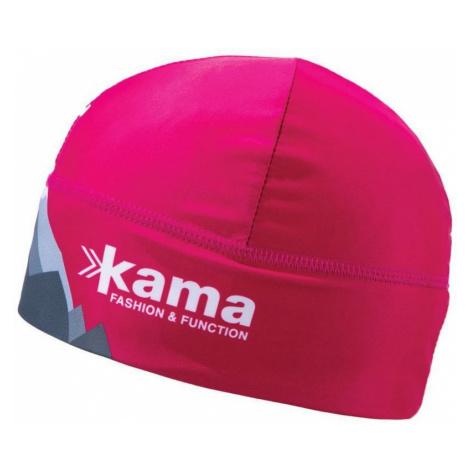 Lauf- Mützen Kama AW03 - 114 Windstopper pink