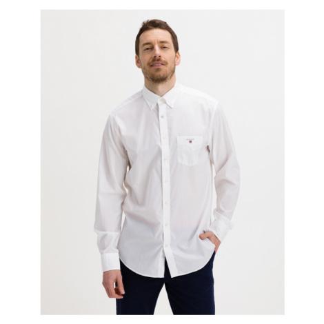 Gant Reg Broadcloth Hemd Weiß