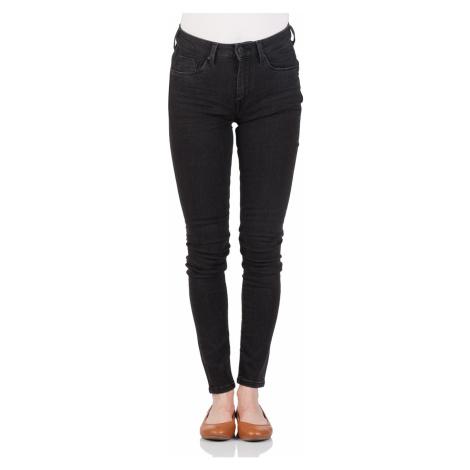 Pepe Jeans Damen Jeans Regent - Slim Fit - Schwarz - Black Denim