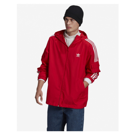 adidas Originals Adicolor Classics 3-Stripes Jacket Rot