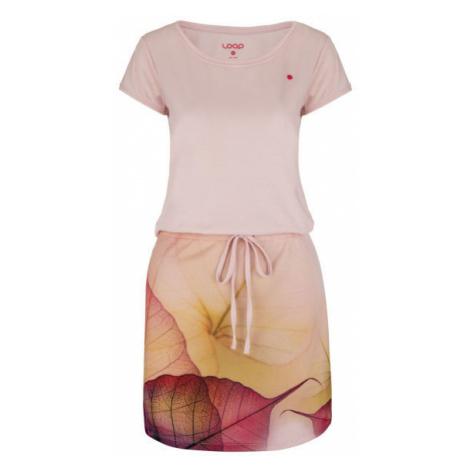 Loap ALYSA rosa - Sommerkleid