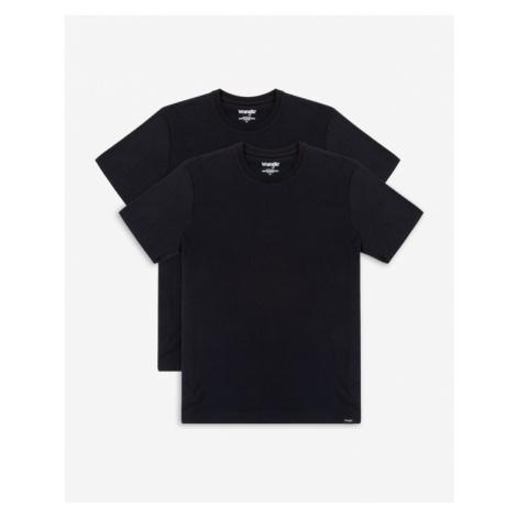 Wrangler T-Shirt 2 St. Schwarz