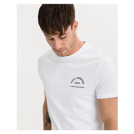 Karl Lagerfeld Rue St Guillaume T-Shirt Weiß