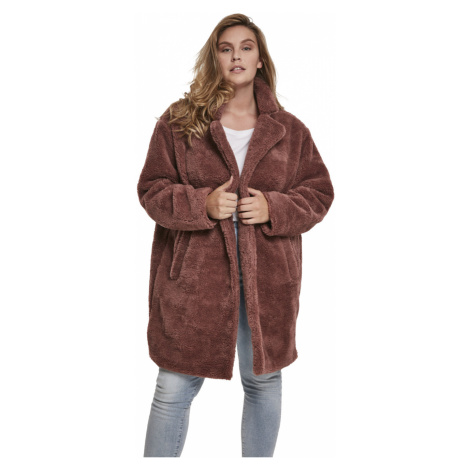 Urban Classics Damen Oversized Sherpa Coat