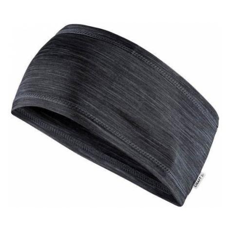 Stirnband CRAFT Melange 1906654-998000 - dark  grey