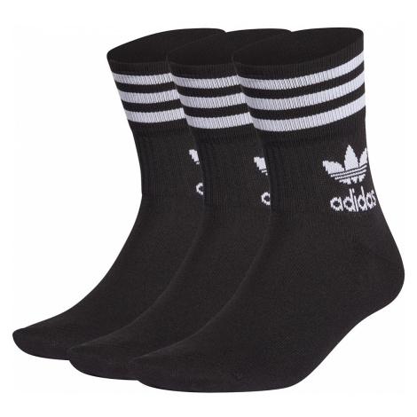 Adidas Originals Socken 5-Pack MID CUT CRW H65459 Schwarz