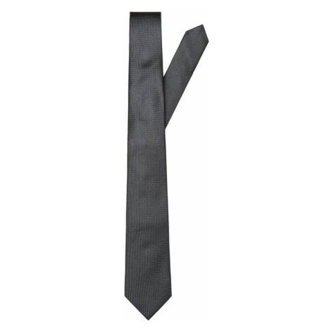 SELECTED Seiden Krawatte Herren Schwarz
