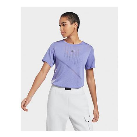 Reebok burnout t-shirt - Hyper Purple - Damen, Hyper Purple