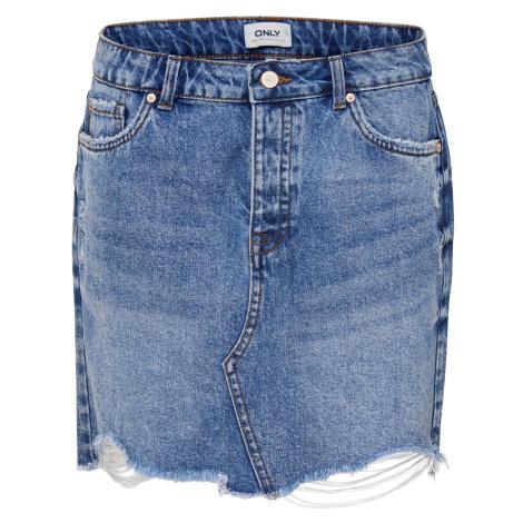 Only Damen Jeansrock Onlsky Reg Dnm Skirt Bb Pim992