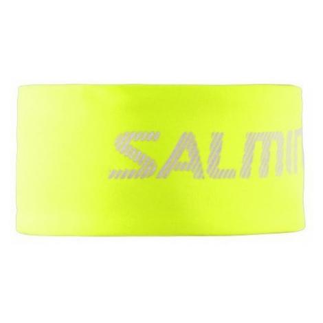 Stirnband SALMING Run Thermal Headband Safety Yellow