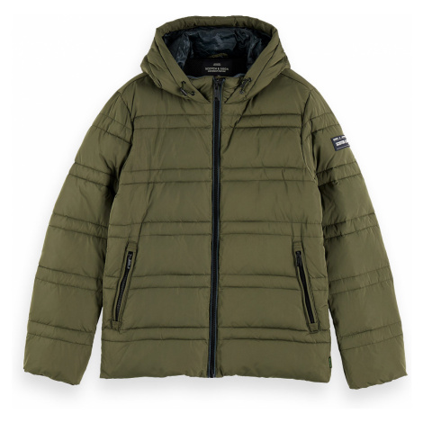 Scotch & Soda Jacket Men CLASSIC HOODED PRIMA LOFT JACKET 152012 Khaki Military 0115