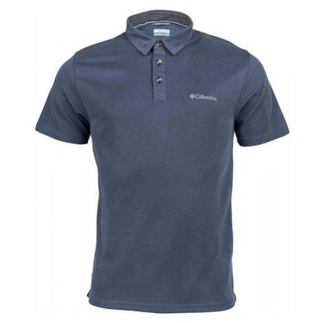 Columbia NELSON POINT POLO grau - Herrenshirt