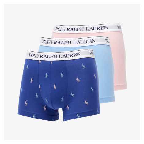 Ralph Lauren Classics 3 Pack Trunk Pink/ Blue Lagoon