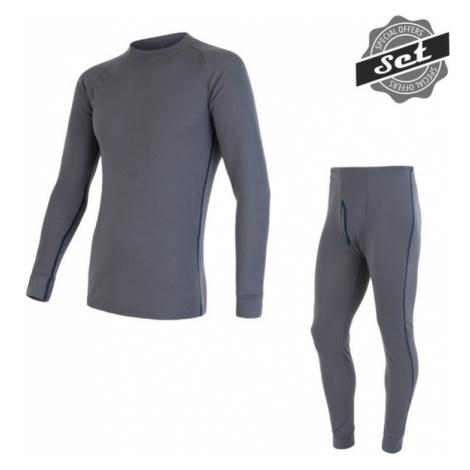 Herren Set Sensor ORIGINAL ACTIVE SET shirt + unterhosen grau 17200050