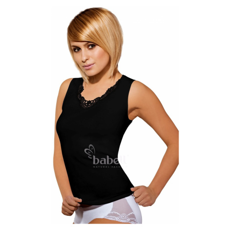 Damen Top & Unterhemd Malika plus black Babell
