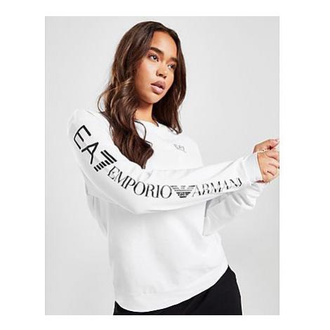 Emporio Armani EA7 Sleeve Logo Crew Sweatshirt Damen - Damen