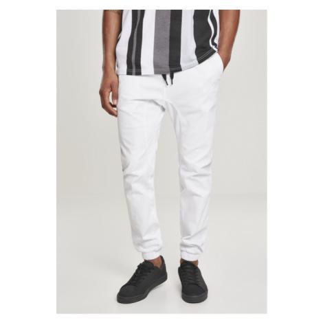 Southpole Stretch Jogger Pants white