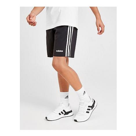 Adidas 3-Stripes Woven Shorts Kinder - Black - Kinder, Black