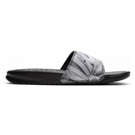 Nike BENASSI JUST DO IT schwarz - Badelatschen für Damen
