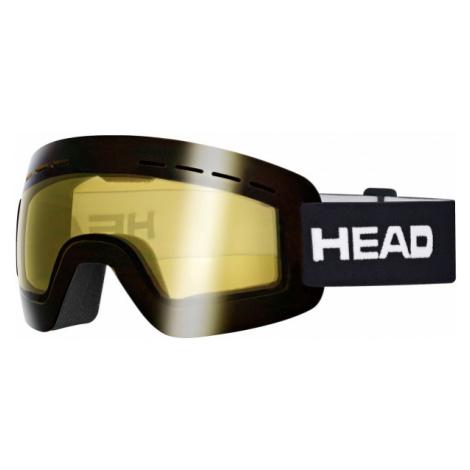 Head SOLAR YELLOW schwarz - Skibrille