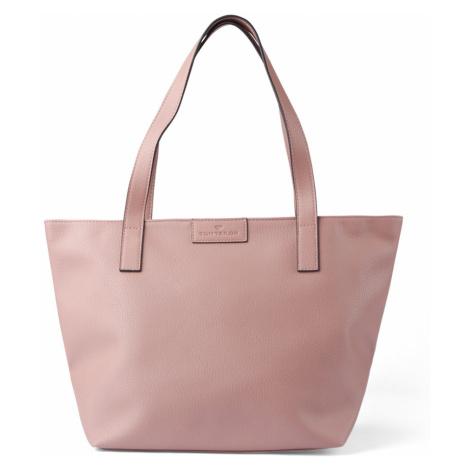 TOM TAILOR Damen Shopper Miri, rosa, unifarben