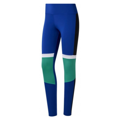 Reebok WOR MYT PANELED blau - Damen Leggings