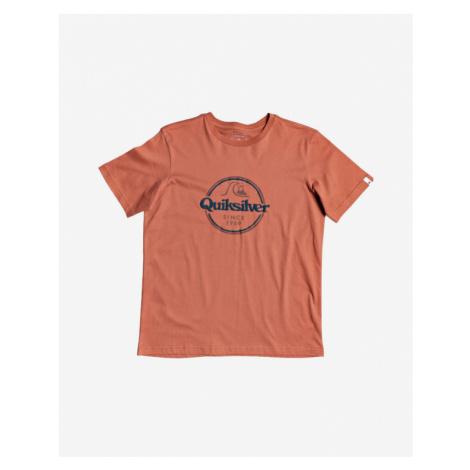 Quiksilver Words Remain Kinder  T‑Shirt Orange
