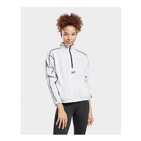 Reebok workout ready 1/2-zip sweatshirt - White - Damen, White