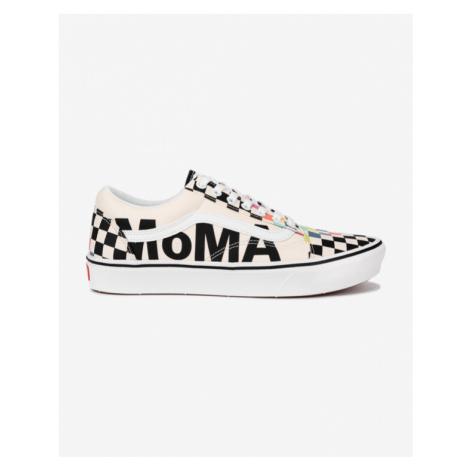 Vans Vans x MoMA ComfyCush Old Skool Tennisschuhe Weiß