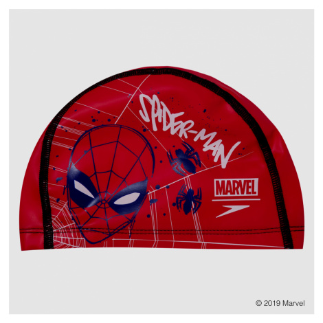 Speedo Marvel Spider-man Printed Pace Cap, Rot/Blau