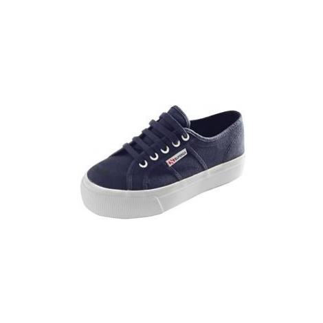 Sneaker 'Classic' hoch navy, Superga