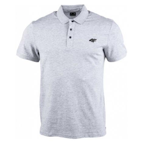 4F MEN´S T-SHIRT grau - Herren Poloshirt