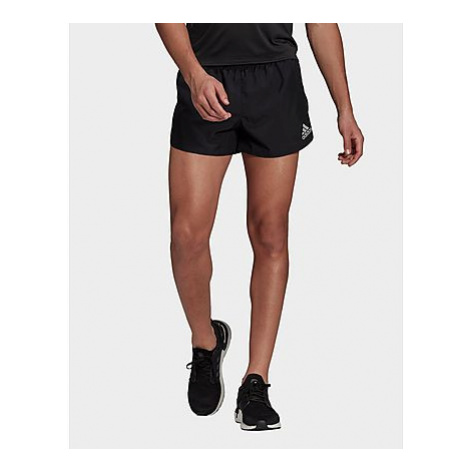 Adidas Fast Split Shorts - Black - Herren, Black