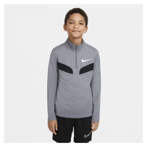 Nike Sport Langarm-Trainingsoberteil für ältere Kinder (Jungen) - Grau