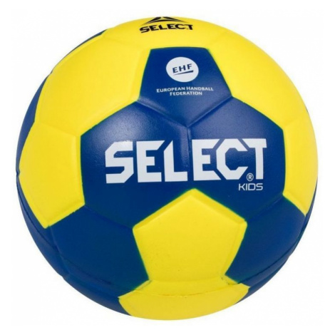 Handball Ball Select Foam Ball Kids IV Gelb blue Grösse. 0
