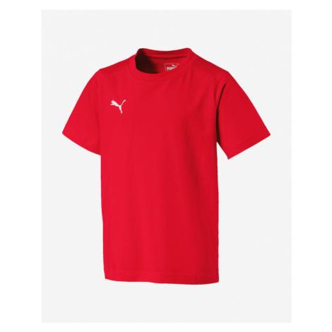 Puma Liga Casuals Kinder  T‑Shirt Rot mehrfarben