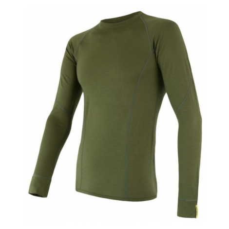 Herren T-Shirt Sensor Merino Wool Active safari 17200019