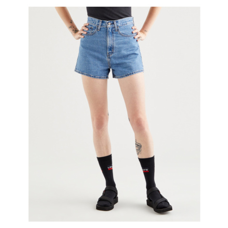 Levi's® High Loose Shorts Blau Levi´s