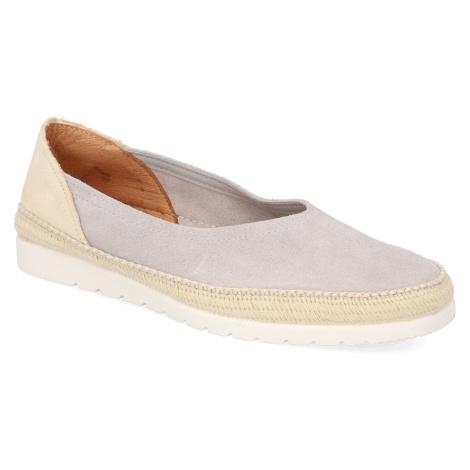 Graue slipper für damen