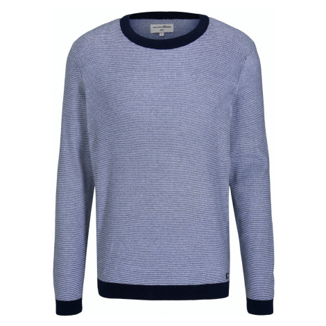 Tom Tailor Pullover Crewneck blau