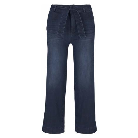TOM TAILOR Damen Culotte Jeans mit Stretch, blau