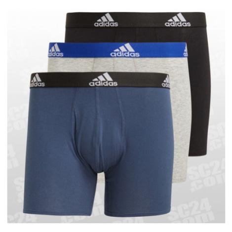 Adidas Essentials BOS Brief 3 Pack blau/grau Größe L