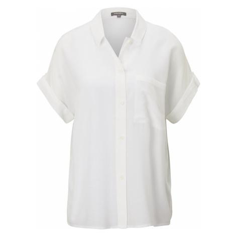 TOM TAILOR MINE TO FIVE Damen Hemdbluse im Loose-Fit, beige