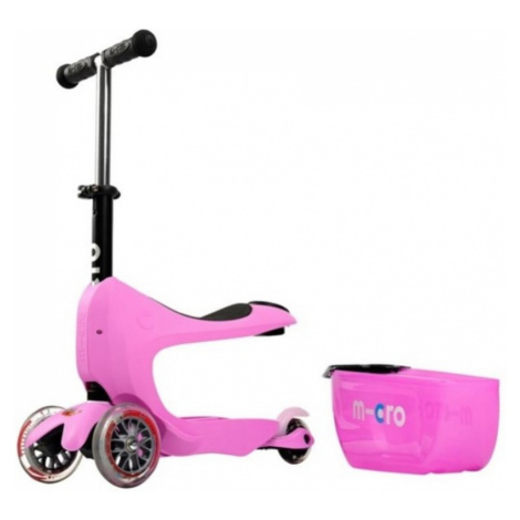 Scooter Micro Mini2go DELUXE - pink