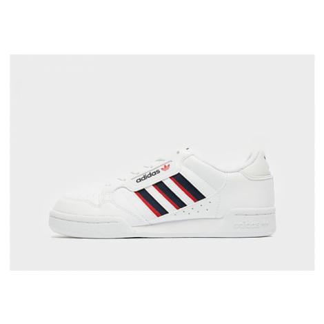 Adidas Originals Continental 80 Stripes Kinder - Cloud White / Collegiate Navy / Vivid Red - Kin